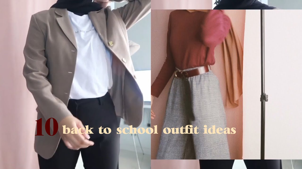 [VIDEO] – 10 BACK TO SCHOOL / UNI OUTFIT IDEAS (kinda late)