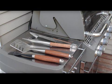 DIY BBQ Grill Tools | Glass Impressions