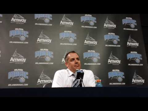 Frank Vogel Interview After Preseason Win Over Pacers