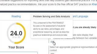 The 2016 PSAT - Understanding Your Online Score Report
