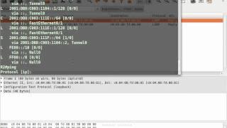IPv6 simulation