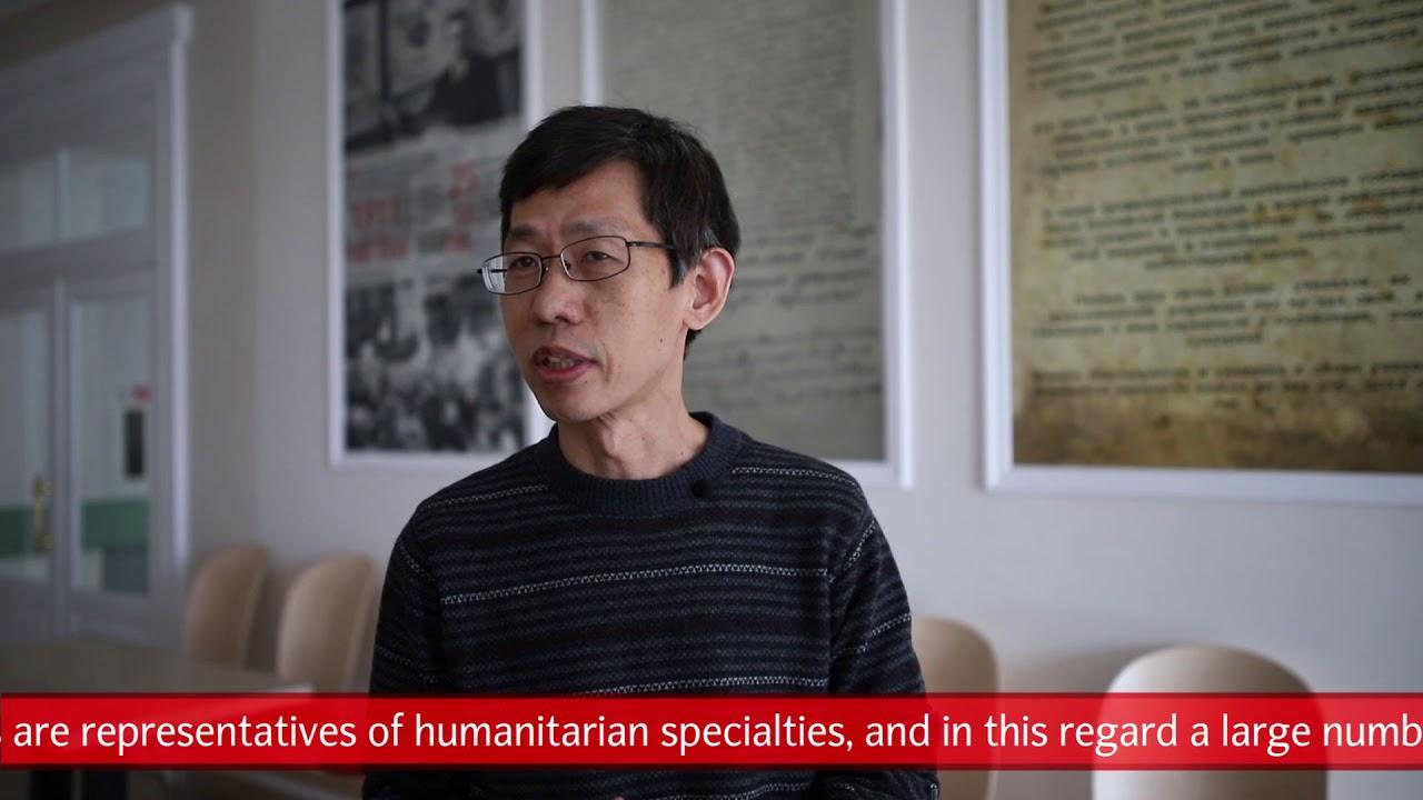 Lu Yixin (China) about partnership with Minin University