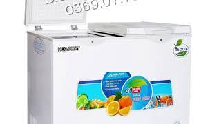Tủ đông mini hòa phát 200l 2 chế độ đông mát