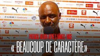 Vieira après Nîmes 1-2 Nice : « Beaucoup de caractère »