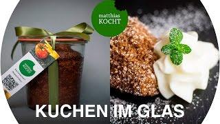 Dattelkuchen im Glas | Matthias kocht