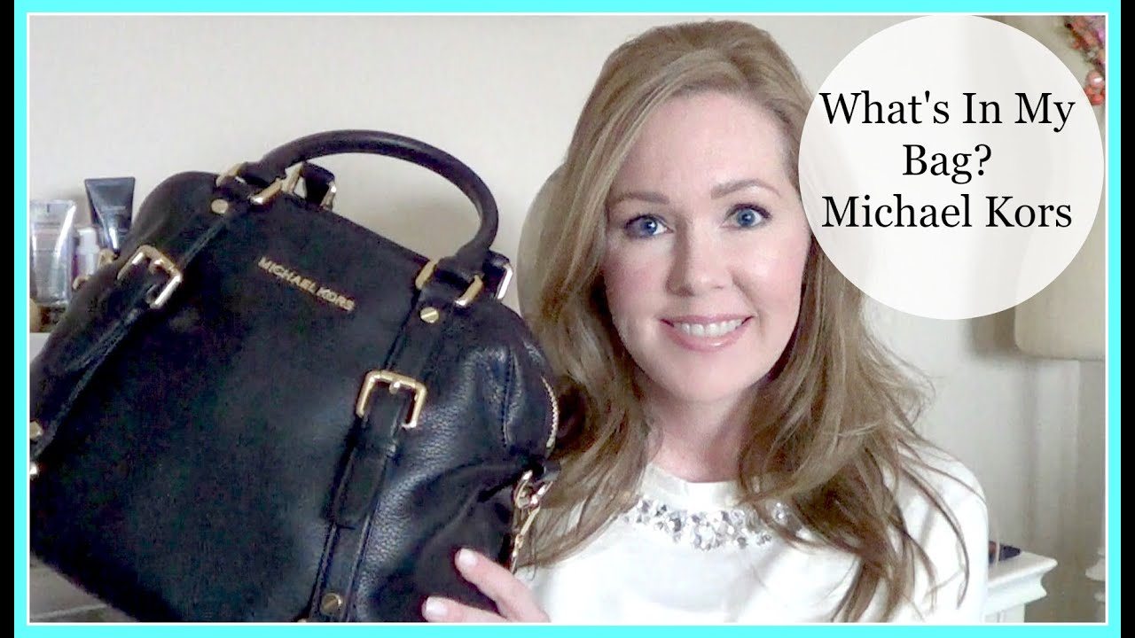What S In My Bag Michael Kors Large Bedford Satchel
