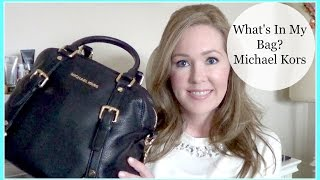 What's In My Bag? Michael Kors Large Bedford Satchel