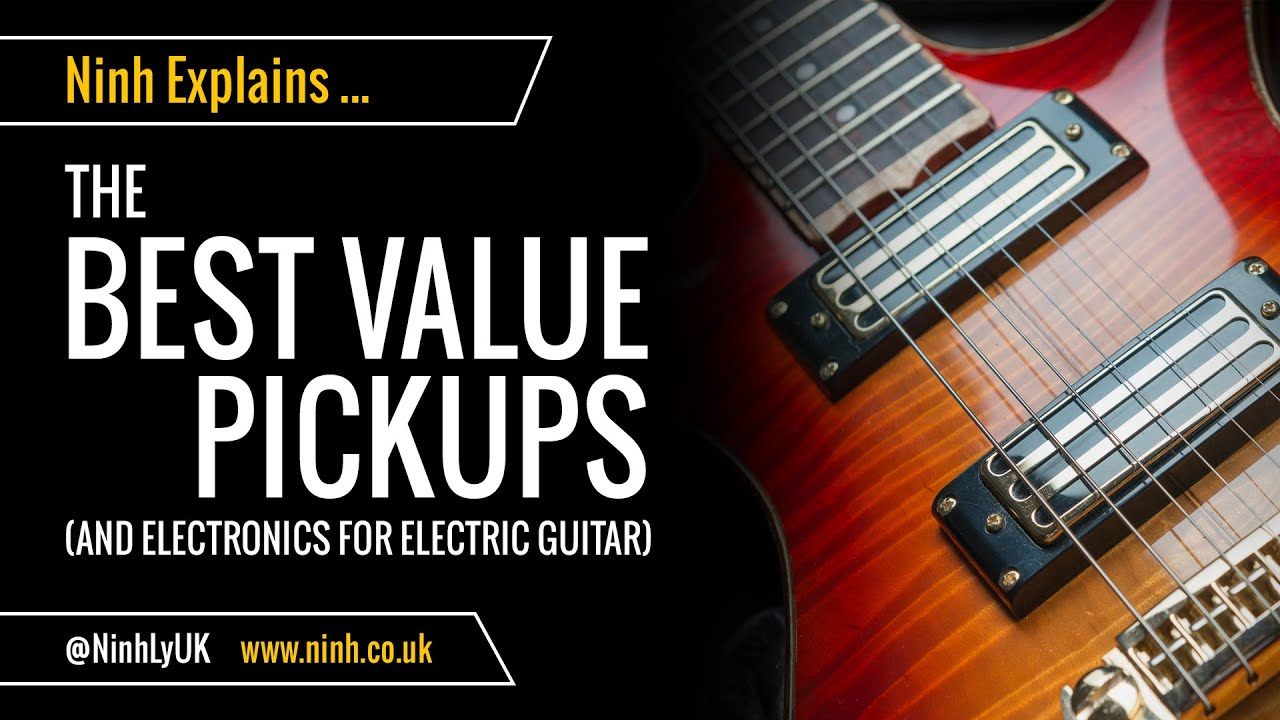 the best value pickups for electric guitar or bass cheap