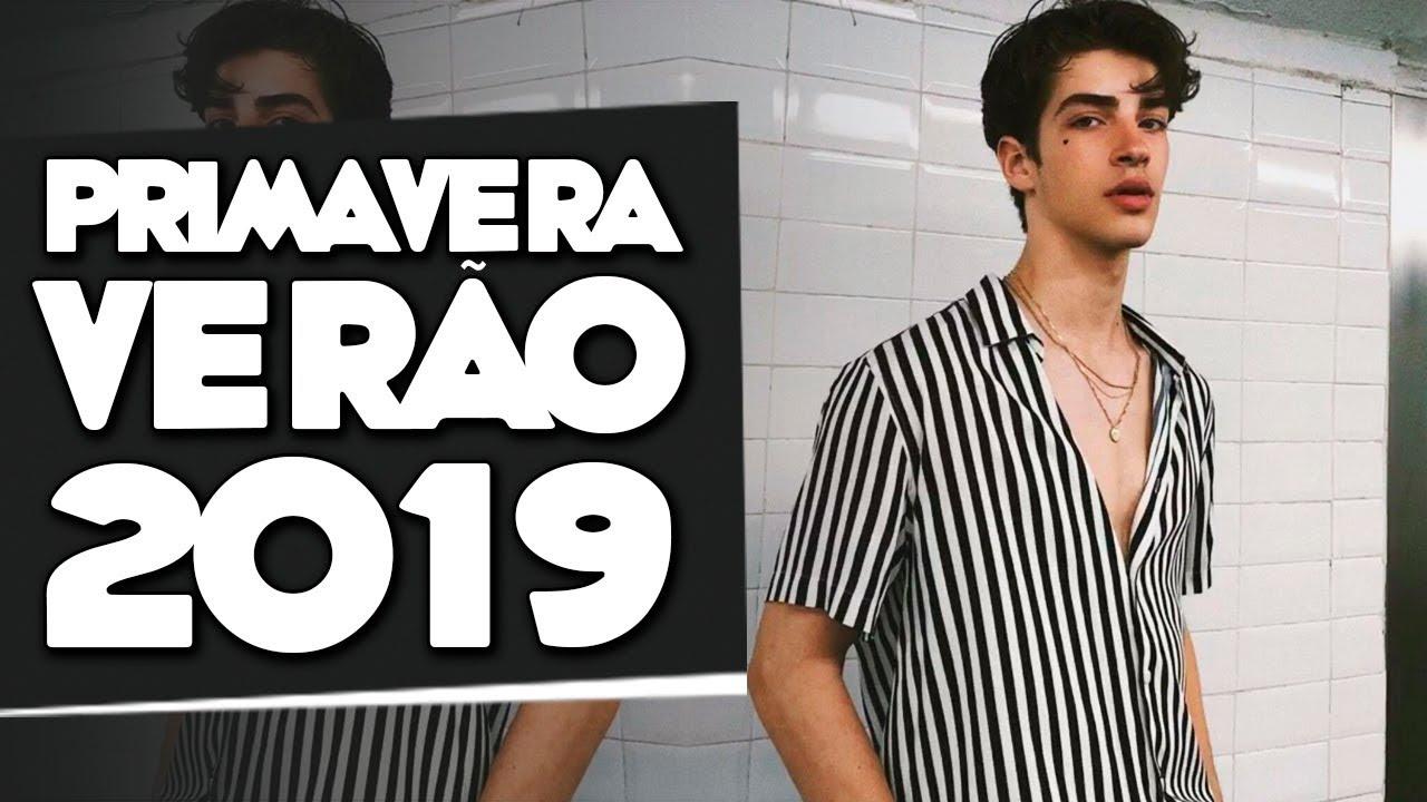 8ba5c4ffc789f Tendências Masculinas pra PRIMAVERA VERÃO 2019 - Moda Masculina 2019.  machomoda