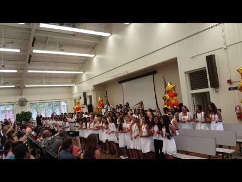 Kahakai Elementary school: 5th grade Graduation 2016