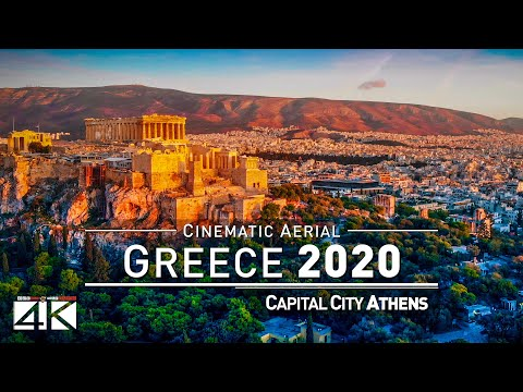 【4K】Incredible Athens from Above - The Capital of GREECE 2020 | Cinematic Aerial Film