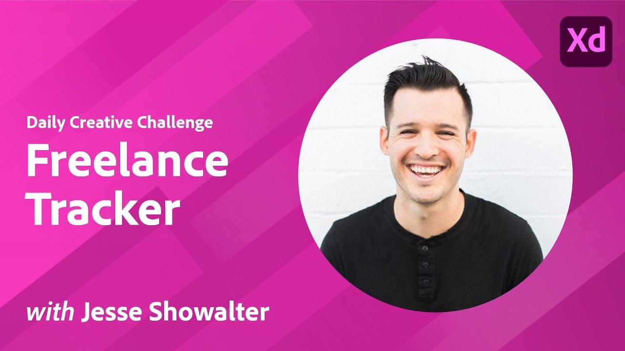 XD Daily Creative Challenge - Freelance Tracker