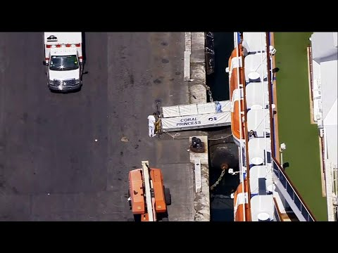 Another ship with virus victims docks in Florida