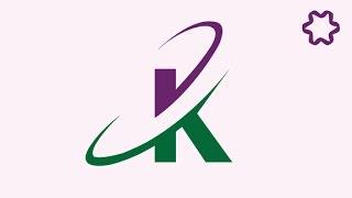 Letter Logo Design Tutorial in Adobe illustrator / Logo Design illustrator tutorial / Text Logo