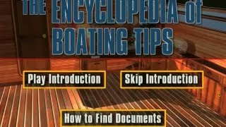 The Encyclopedia of Boating Tips DVD Trailer