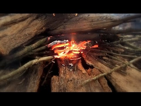 nature to build a fire