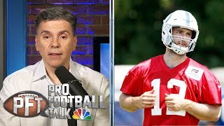 Indianapolis Colts creating confusion with Andrew Luck's health | Pro Football Talk | NBC Sports