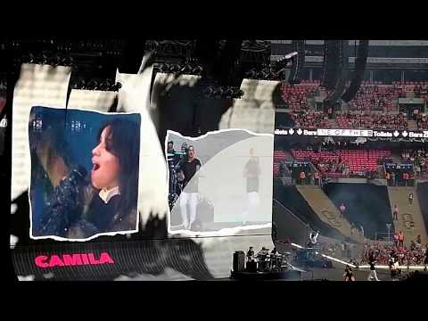 "Camila Cabello Performing ""Havana"" Live @ Wembley Stadium, London"
