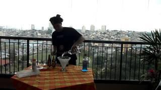 Mexican Bulldog Blue Margarita Drink