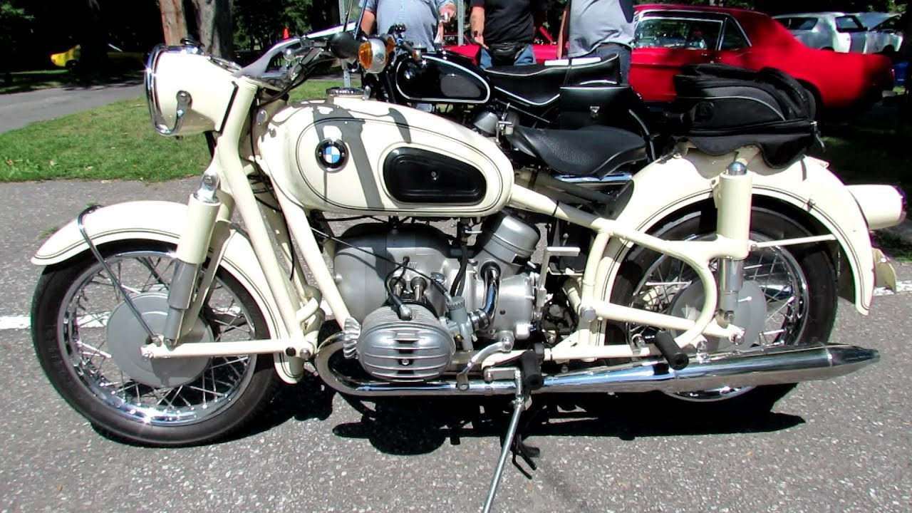 1965 bmw r60-2 motorcycle - 2012 beaconsfield, montreal, quebec