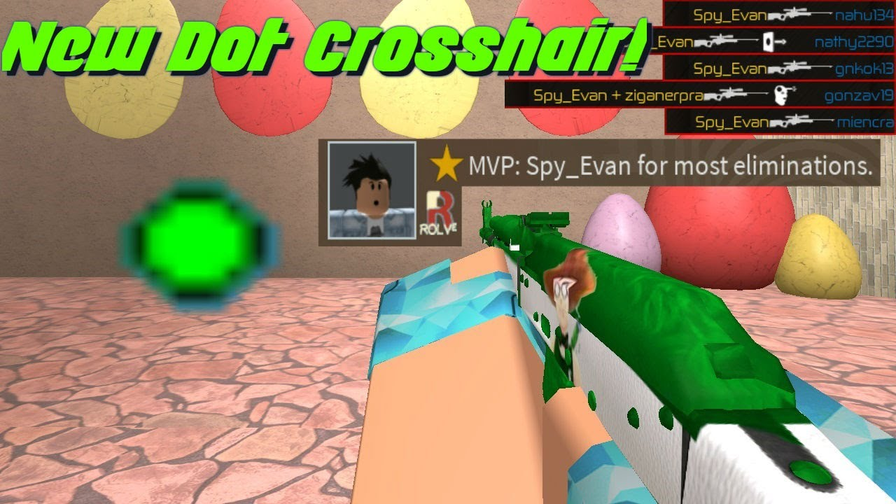 Using A Dot Crosshair In Deathmatch! (Counter Blox)