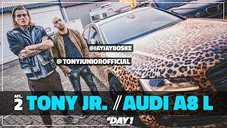 LUIPAARD PRINT LIMOUSINE AUDI van DJ Tony Junior (Audi A8 L) || #DAY1 De Auto Van Afl. #2