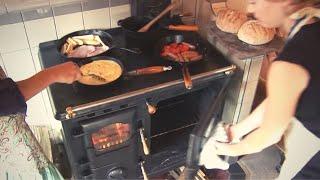 Homewood Companion - cast iron cooking stove