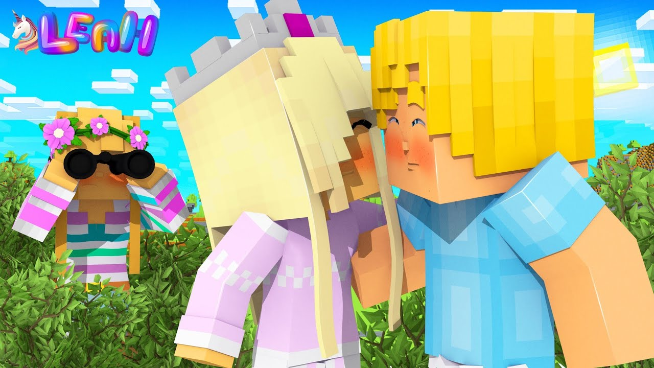 Little Leah CATCHES HER DAUGHTER KISSING A BOY... Minecraft