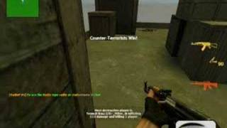 counter-strike source:me havin luck.we will rock you(techno)