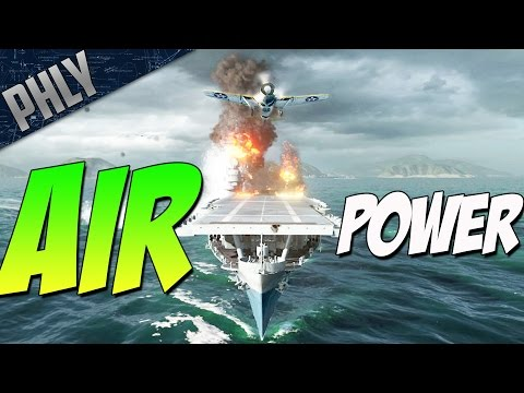 FIGHTER HEAVY Air Superiority - USS Ranger (World Of Warships Carrier Gameplay)