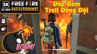 [Garena Free Fire] TOP 1 Troll Đồng Đội Siêu Thốn Phần 4 | Sỹ Kẹo