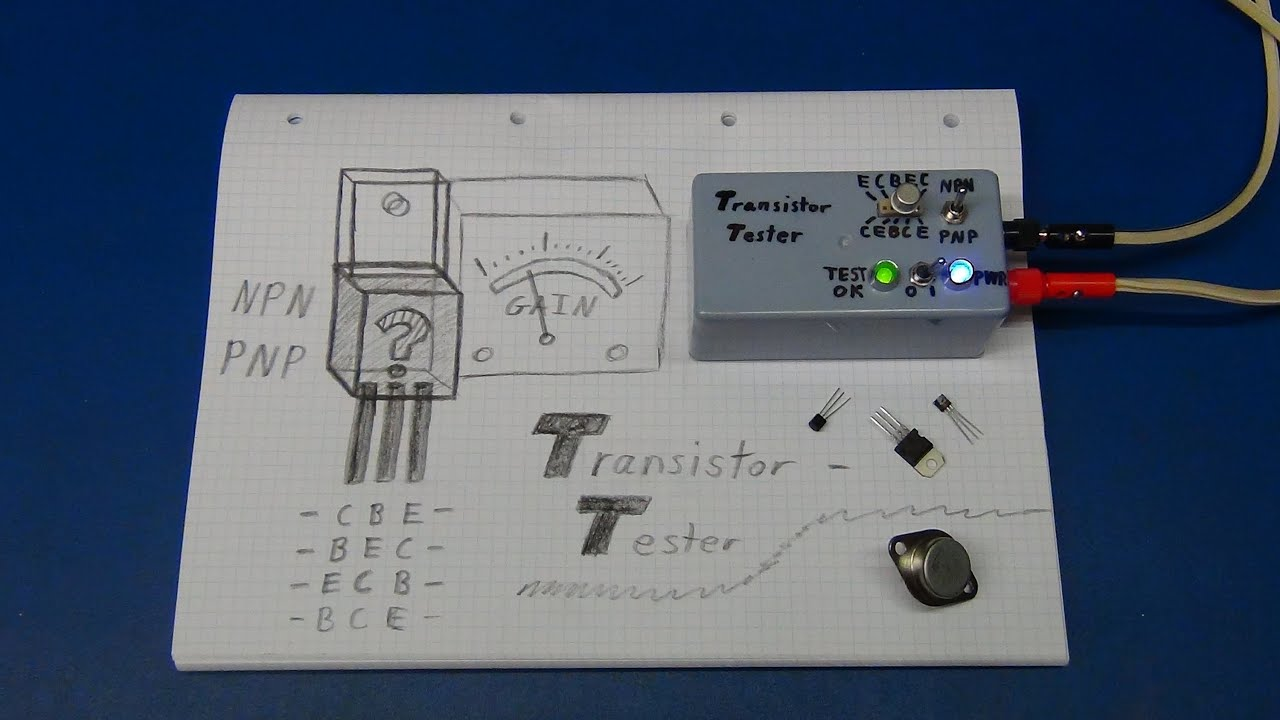 diy transistor tester (part 1) ec projects youtubediy transistor tester (part 1) ec projects
