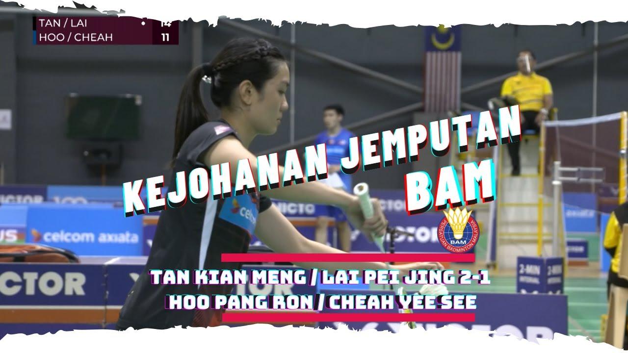 TAN KIAN MENG / LAI PEI JING v HOO PANG RON / CHEAH YEE SEE   BADMINTON JEMPUTAN BAM 2020