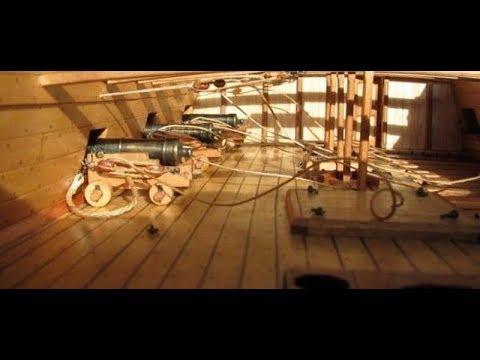 La Salamandre 1752 Wood Model Ship Kits