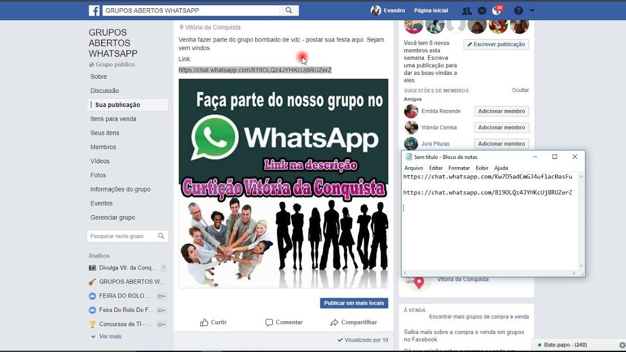 grupo de paquera no whatsapp link