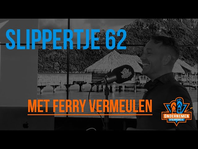 Slippertje 62: Ecommerce & Compliancy met Ferry Vermeulen