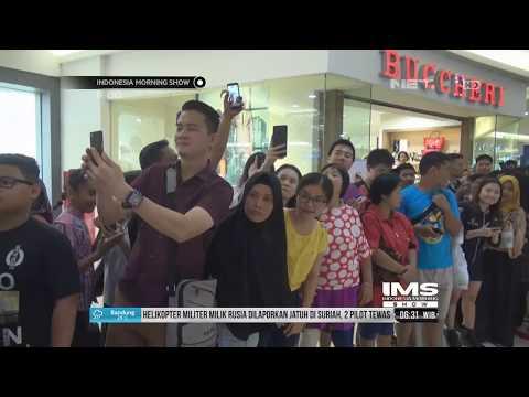 Presiden Jokowi Kunjungi Mall Di Pekanbaru, Riau