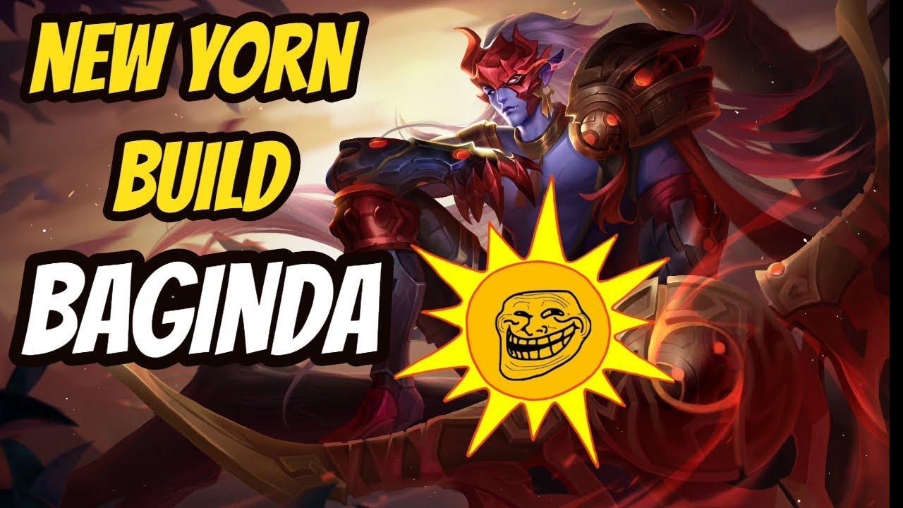 YORN NEW BUILD  | BAGINDA YORN  | Arena of Valor Yorn Gameplay
