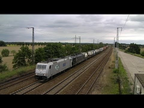 Massive Freight Train Action near Berlin!