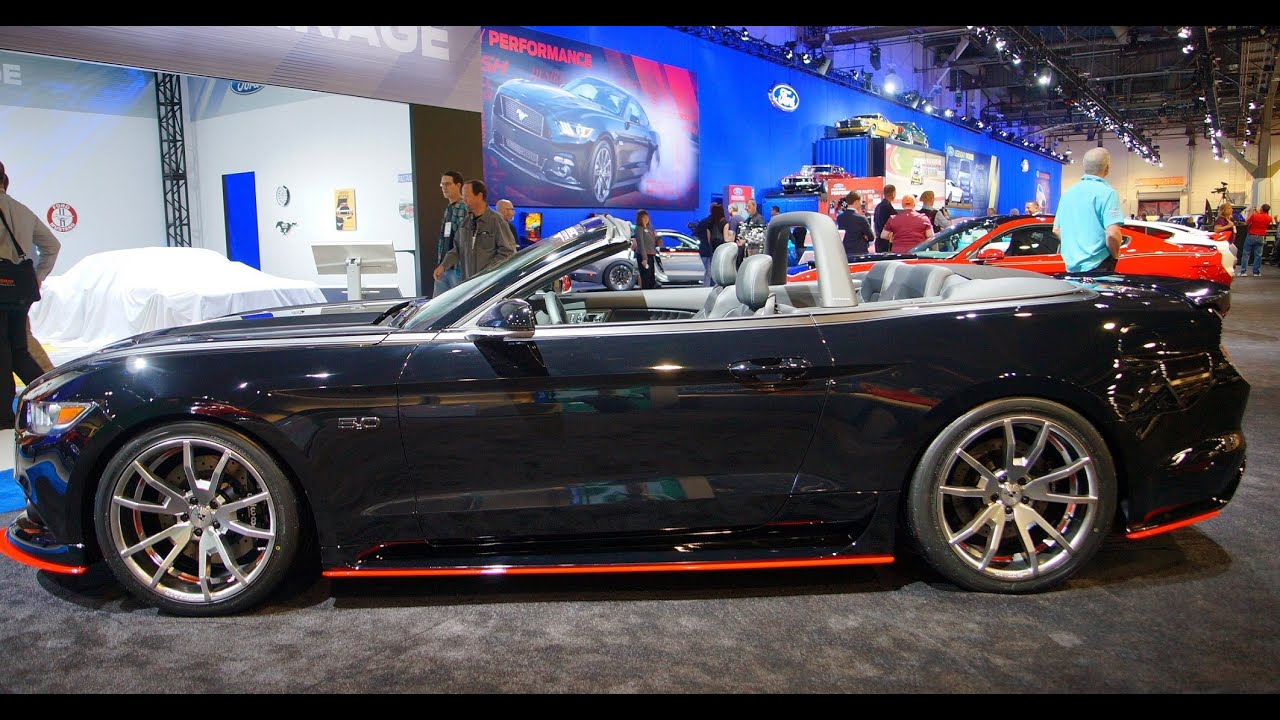 2015 Cdc Outlaw Mustang At Sema 2014 Youtube