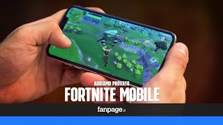 Fornite iPhone xs max