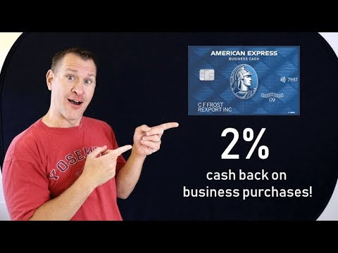 NEW CREDIT CARD: Blue Business Cash From American Express Review