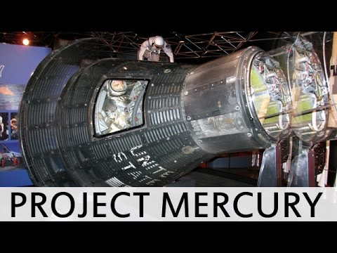 Project Mercury - 1959 NASA Space Program - Summary of Space Launch