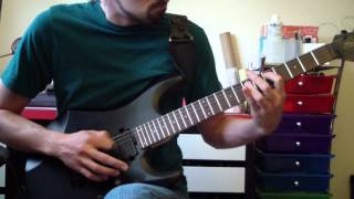 Megadeth - Reckoning Day/Addicted to Chaos (guitar cover)