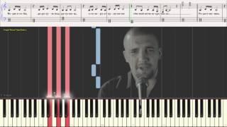 Тёмная ночь - Баста (Ноты и Видеоурок для фортепиано) (piano cover)