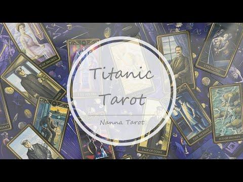 開箱  鐵達尼號塔羅牌 典藏木盒版 • Titanic Tarot