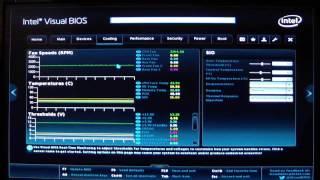 Intel UEFI Visual Bios 2 Guide for the DZ87KLT-75K Motherboard