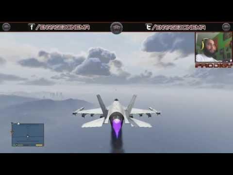 GTA5   My First Jet (LIVE REACTION) EC