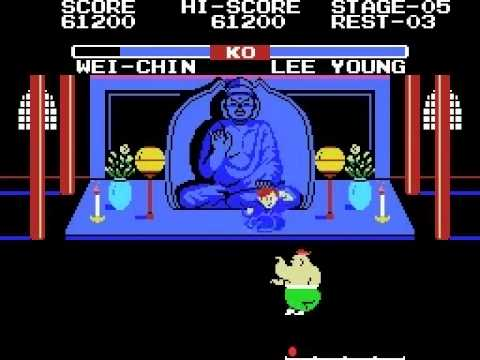 TAS Yie Ar Kung Fu 2 The Emperor Yie-Gah MSX In 3:45 By Quibus