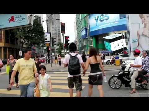 Bukit Bintang shopping and entertainment district of Kuala Lumpur, Malaysia